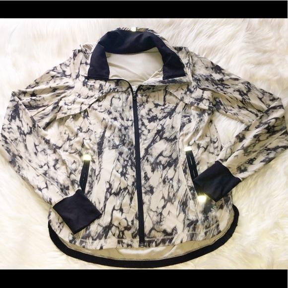 lululemon athletica Jackets & Blazers - RARE‼️🆕LULULEMON Tie Dye Zip Lightweight Jacket